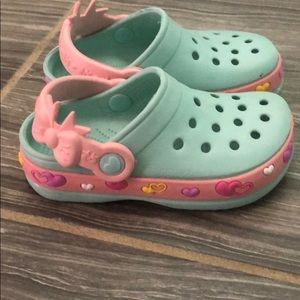 Toddler girl clog sz 5